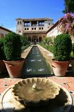 Generalife Royalty Free Stock Photography