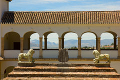 Generalife in Alhambra complex, Granada, Spain Stock Image