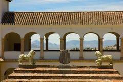 Generalife in Alhambra complex, Granada, Spain stock image