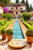 The Generalife of the Alhambra de Granada, Spain Royalty Free Stock Photo