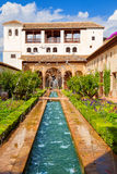 The Generalife of the Alhambra de Granada, Spain Stock Photo
