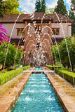 The Generalife of the Alhambra de Granada, Spain Stock Image