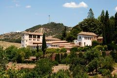 Generalife, Alhambra Palace. Royalty Free Stock Photos