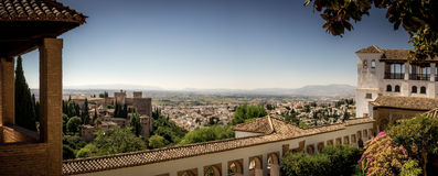 The Generalife at the Alhambra Palace Royalty Free Stock Photo