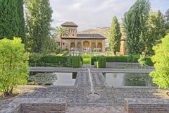 Generalife gardens, alhambra, spain Stock Photos