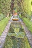 Generalife gardens, alhambra, spain Stock Photo