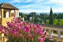 Generalife Gardens. Royalty Free Stock Photos
