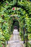 Generalife gardens Stock Photo