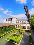 Generalife in Granada, Spain Royalty Free Stock Image