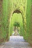 Generalife ogródy, Alhambra, Spain Zdjęcia Stock