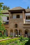 Generalife palace cortyard, Granada, Spain Stock Photography