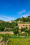 Generalife palace, Granada, Spain royalty free stock image