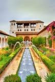 Generalife Palace in Granada, Spain Royalty Free Stock Images