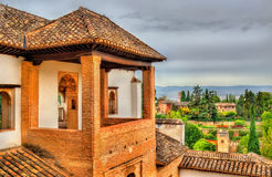 Generalife Palace in Granada, Spain Stock Image