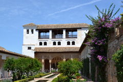 Generalife palace, Granada, Spain Stock Image