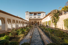 Generalife palace Stock Photo