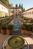 Generalife palace Stock Photography