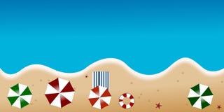 Generalità della spiaggia Immagine Stock