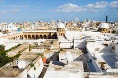 Generalità di grande moschea di Al-Zaytuna a Tunisi Fotografie Stock