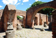 Generalità di un nazionale romano antico Immagini Stock