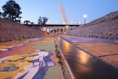 Generalitat的桥梁在埃尔切 免版税库存照片