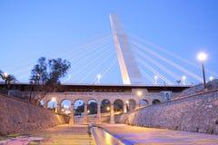 Generalitat的桥梁在埃尔切 库存图片
