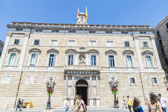 Generalitat of Catalonia, Barcelona Stock Photos