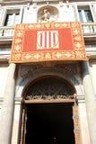 Generalitat de Catalunya Stock Image