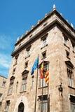 generalitat valenciana παλατιών Στοκ φωτογραφίες με δικαίωμα ελεύθερης χρήσης