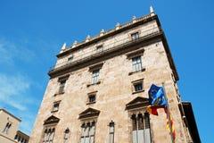 generalitat valenciana παλατιών Στοκ εικόνα με δικαίωμα ελεύθερης χρήσης