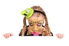 generalna dziewczyna Halloween Fotografia Stock