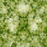 Computer generated abstract green triangles geometrical background. Generated abstract green triangles geometrical background vector illustration