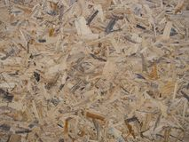Generated pattern of compacted wood. Piece Stock Photo