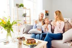 Generati de personnes de retraite de confort de loisirs de maternité de condition parentale Photos libres de droits