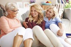 Generatie drie van vrouwen Royalty-vrije Stock Afbeeldingen