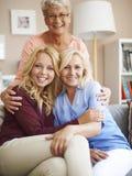 Generatie drie van vrouwen stock afbeelding