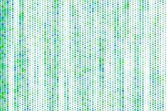 Generatieve de kunstachtergrond van het kleuren abstracte hexagon patroon Illustratie, effect, tegel & tekening royalty-vrije illustratie