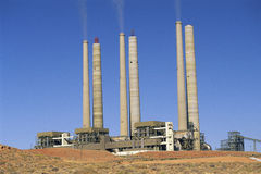 Generating station Stock Image