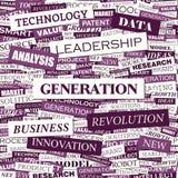 GENERATION Lizenzfreies Stockfoto