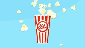 Pop-corn explosion animation