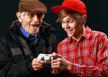 Generation gap Stock Photo
