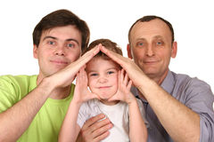 Generation house Stock Image