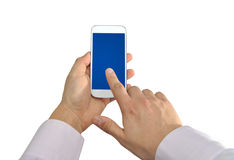 Generation mobile business Royalty Free Stock Photo