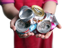 Generation of Recycling Royalty Free Stock Photography