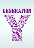 Generation Y Royalty Free Stock Photo