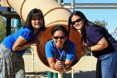 Generational Friendship Stock Photos