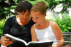 Generations book Stock Photos