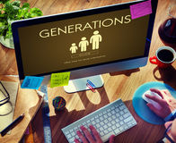Generations Family Togetherness Relationship Concept royalty free stock photo