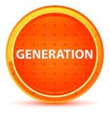 Generations-natürlicher orange runder Knopf vektor abbildung