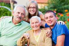 Generations Royalty Free Stock Photo